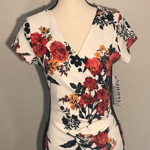 Almost Famous Mock Wrap Dress! BRAND NEW!